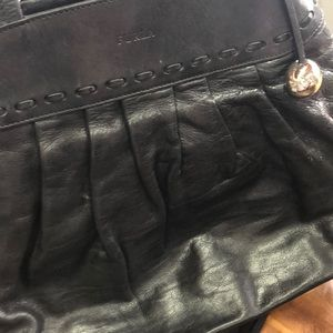 Furla Black Leather Tote